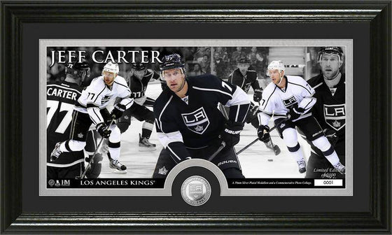 Los Angeles Kings Jeff Carter Mint Coin Panoramic Photo Mint (HM)
