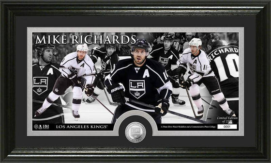 Los Angeles Kings Mike Richards Mint Coin Panoramic Photo Mint (HM)