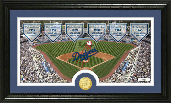 "Los Angeles Dodgers ""Traditions"" Bronze Coin Panoramic Photo Mint (HM)"