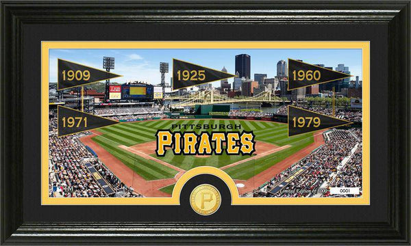 "Pittsburgh Pirates ""Traditions"" Bronze Coin Panoramic Photo Mint (HM)"
