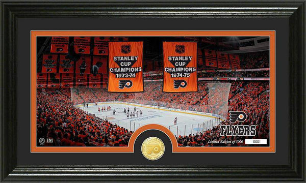 "Philadelphia Flyers ""Traditions"" Bronze Coin Panoramic Photo Mint (HM)"