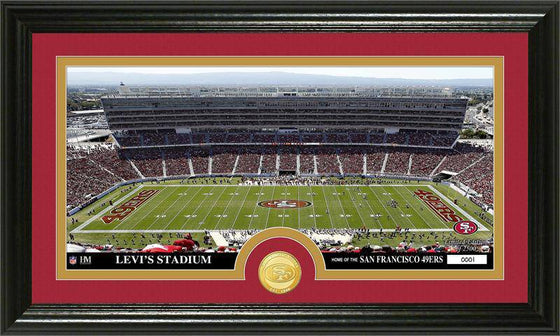 "San Francisco 49ers ""Stadium"" Bronze Coin Panoramic Photo Mint (HM)"