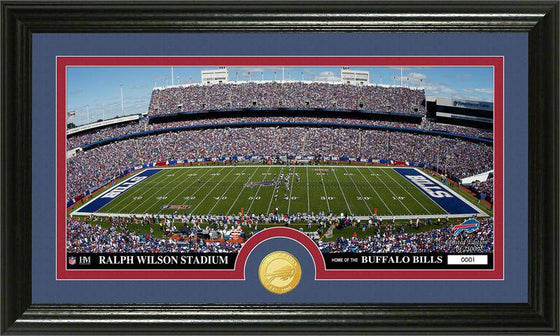 "Buffalo Bills ""Stadium"" Bronze Coin Panoramic Photo Mint (HM)"