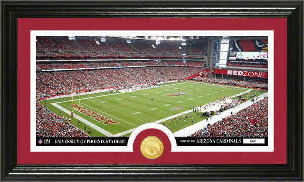 "Arizona Cardinals ""Stadium"" Bronze Coin Panoramic Photo Mint (HM)"