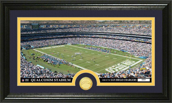 "San Diego Chargers ""Stadium"" Bronze Coin Panoramic Photo Mint (HM)"