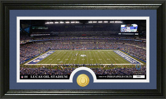 "Indianapolis Colts ""Stadium"" Bronze Coin Panoramic Photo Mint (HM)"