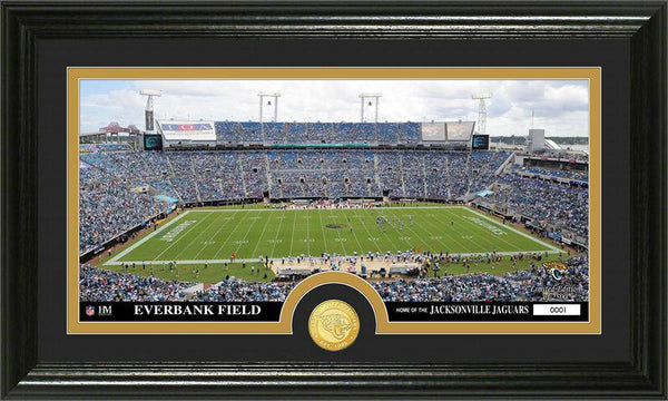 "Jacksonville Jaguars ""Stadium"" Bronze Coin Panoramic Photo Mint (HM)"