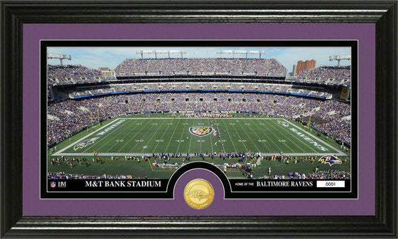 "Baltimore Ravens ""Stadium"" Bronze Coin Panoramic Photo Mint (HM)"