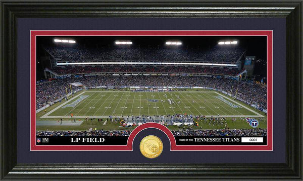 "Tennessee Titans ""Stadium"" Bronze Coin Panoramic Photo Mint (HM)"