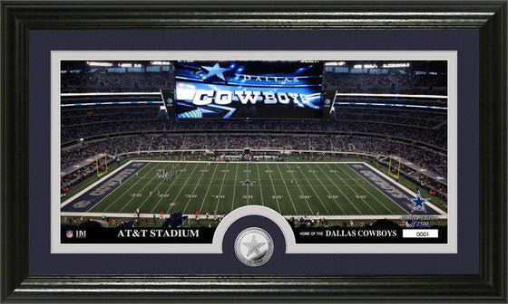 "Dallas Cowboys ""Stadium"" Minted Coin Panoramic Photo Mint (HM)"