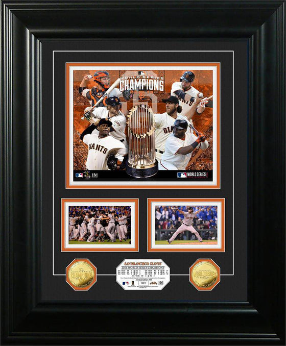 "San Francisco Giants 2014 World Series Champions ""Marquee"" Gold Coin Photo Mint (HM)"