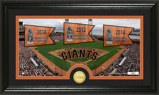 "San Francisco Giants ""Traditions"" Bronze Coin Panoramic Photo Mint (HM)"