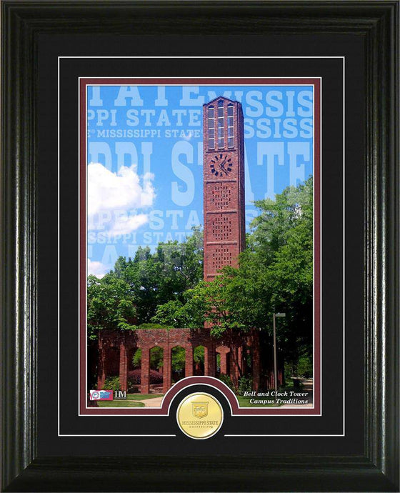"Mississippi State Bulldogs Mississippi State University ""Campus Traditions"" Bronze Coin Photo Mint (HM)"