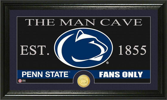 "Penn State Nittany Lions Penn State ""Man Cave"" Bronze Coin Panoramic Photo Mint (HM)"