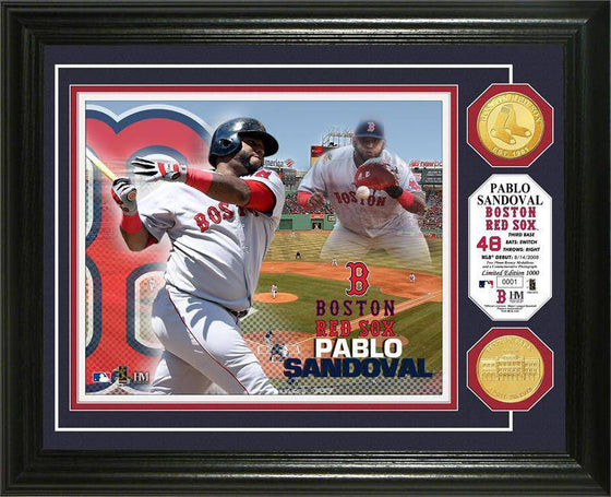 Boston Red Sox Pablo Sandoval Photo Mint (HM) - 757 Sports Collectibles