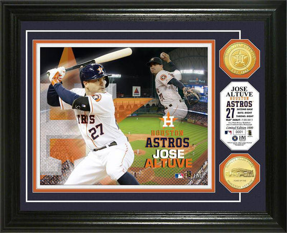 Houston Astros Jose Altuve Photo Mint (HM)