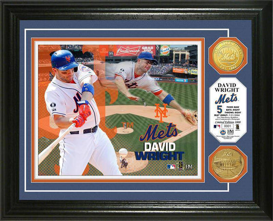 New York Mets David Wright Photo Mint (HM)