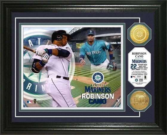 Seattle Mariners Robinson Cano Photo Mint (HM)