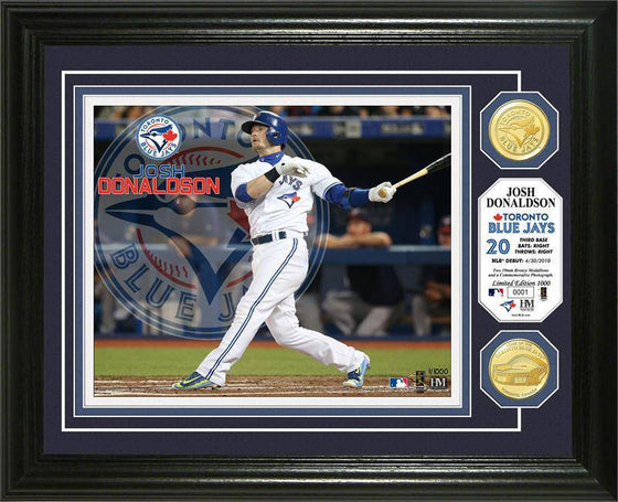 Toronto Blue Jays Josh Donaldson Photo Mint (HM) - 757 Sports Collectibles