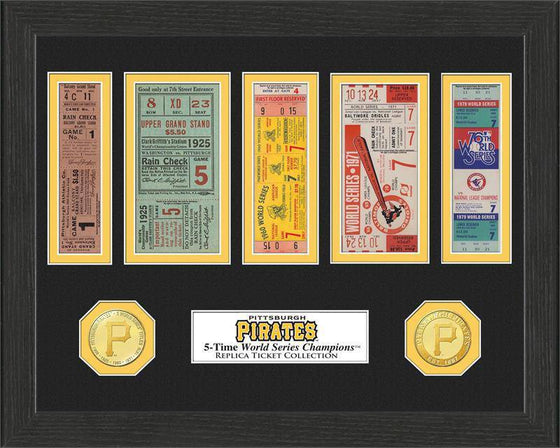 Pittsburgh Pirates World Series Ticket Collection (HM) - 757 Sports Collectibles