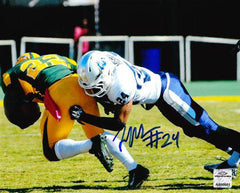 NCAA Fellonte Misher Old Dominion ODU Monarchs Signed Auto 8x10 ( JSA PSA Pass) 757