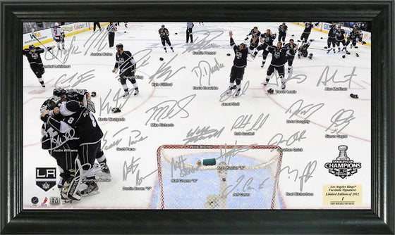 Los Angeles Kings 2012 Stanley Cup Champions Celebration Signature Rink (HM) - 757 Sports Collectibles