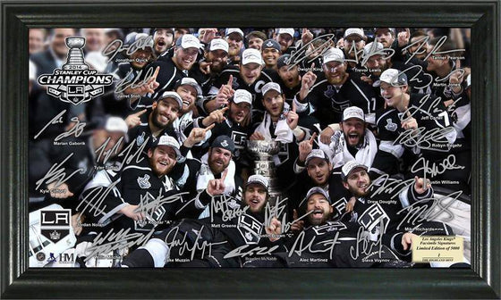 "Los Angeles LA Kings 2014 Stanley Cup Champions ""Tradition"" Signature Rink (HM) - 757 Sports Collectibles"