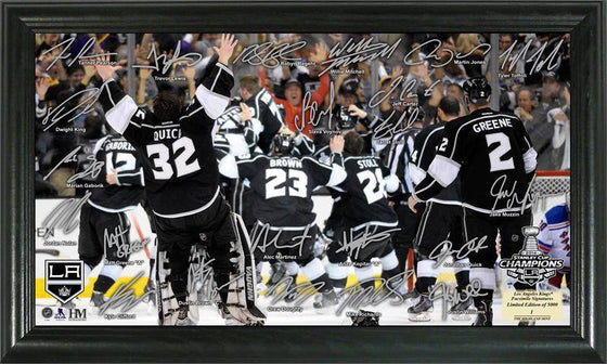 "Los Angeles LA Kings 2014 Stanley Cup Champions ""Celebration"" Signature Rink (HM) - 757 Sports Collectibles"