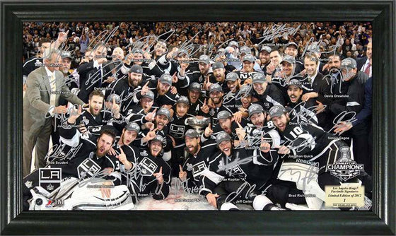Los Angeles Kings 2012 Stanley Cup Champions Signature Rink (HM) - 757 Sports Collectibles