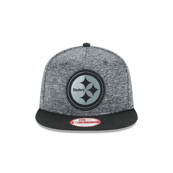NFL Pittsburgh Steelers New Era 9Fifty Grey Collection Snapback Hat