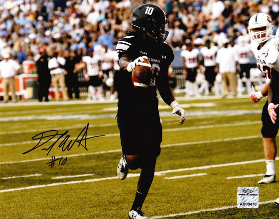 Old Dominion ODU Monarchs David Washigton Signed Autographed 8x10 Photo 'Look' (JSA PSA Pass) 757 COA