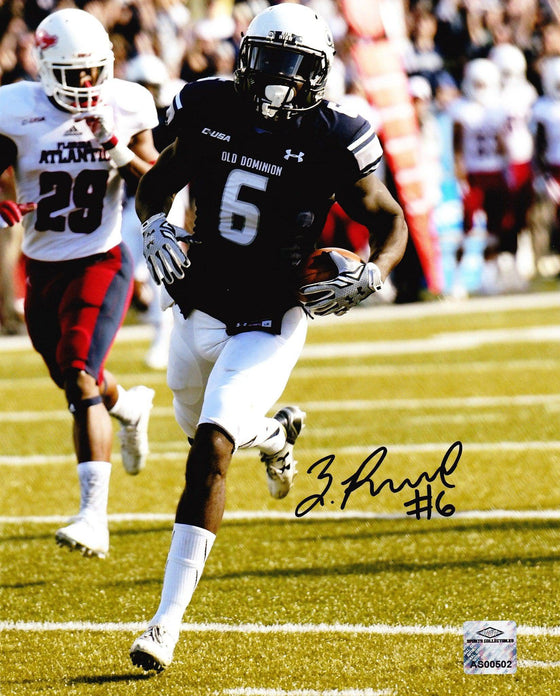 Old Dominion ODU Monarchs Zach Pascal Signed Autographed 8x10 Photo (JSA PSA Pass) 757 COA - 757 Sports Collectibles