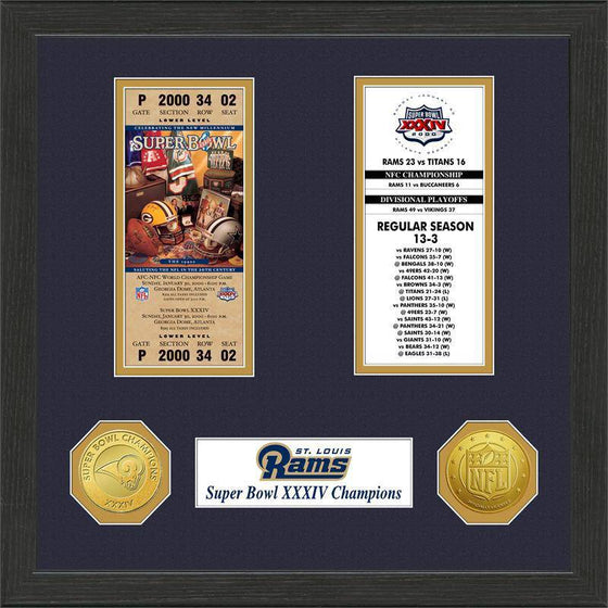 St.Louis Rams  SB Championship Ticket Collection (HM)