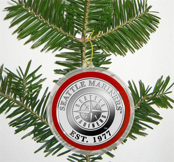Seattle Mariners Silver Coin Ornament (HM)
