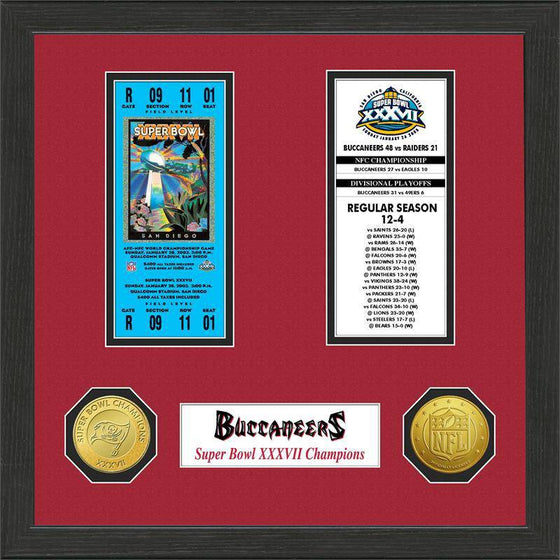 Tampa Bay Buccaneers  SB Championship Ticket Collection (HM)