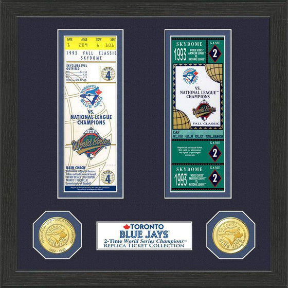 Toronto Blue Jays World Series Ticket Collection (HM)