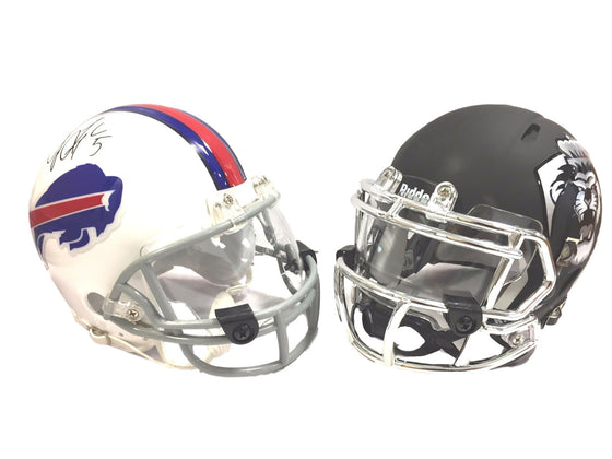Clear Mini Helmet Visor Fits Riddell, Schutt, Speed, and Traditional Mini Helmets - 757 Sports Collectibles