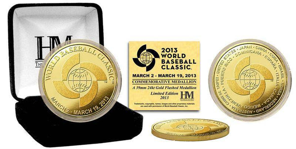 2013 World Baseball Classic Gold Coin (HM)