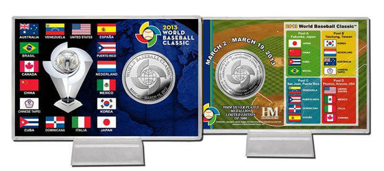 2013 World Baseball Classic Silver Coin Card (HM)