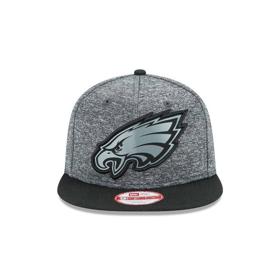 NFL Philadelphia Eagles New Era 9Fifty Grey Collection Snapback Hat