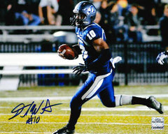 NCAA David Washington Old Dominion ODU Monarchs Signed Auto 8x10 Run ( JSA PSA Pass) 757