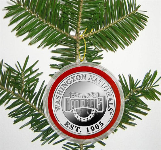 Washington Nationals Silver Coin Ornament (HM) - 757 Sports Collectibles