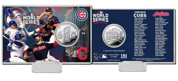 2016 World Series Dueling Silver Coin Card  (HM)