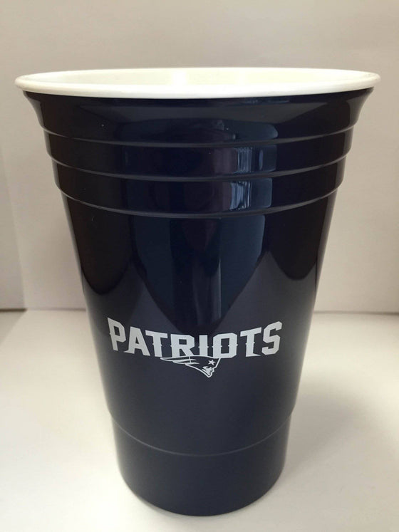 NFL New England Patriots 16 oz Reusable Solo Cup