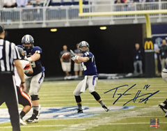 NCAA Taylor Heinicke Old Dominion ODU Monarchs Signed Auto 11x14 Pocket ( JSA PSA Pass) 757