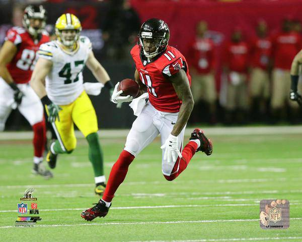 Atlanta Falcons Julio Jones 2016 NFC Championship 20x24 Photo