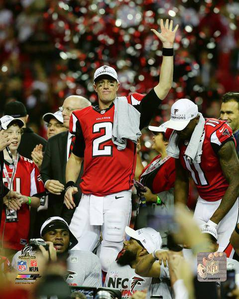 Atlanta Falcons Matt Ryan 2016 NFC Championship 16x20 Photo
