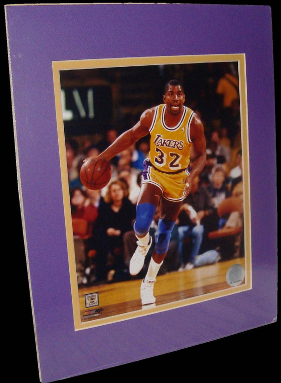 Magic Johnson Los Angeles Lakers Look Matted 8x10 Photo Picture Poster Print