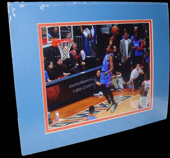 Kevin Durant Oklahoma City Thunder Dunk Matted 8x10 Photo Picture Poster Print