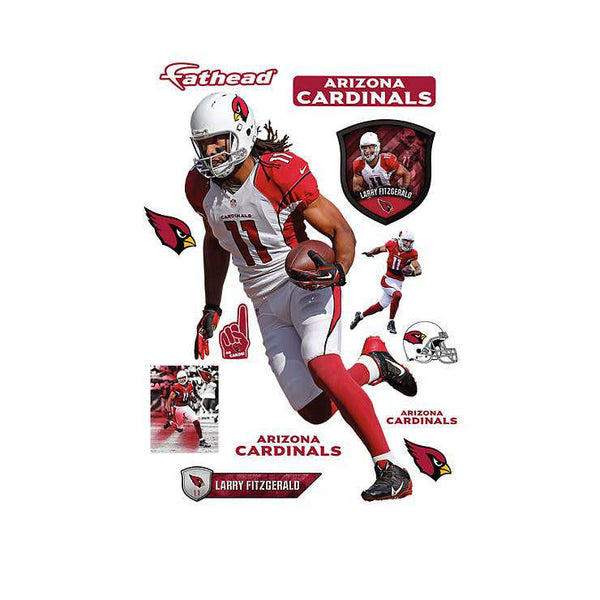 Arizona Cardinals Larry Fitzgerald REALBIG Player/Person 54x80 Decal Sticker